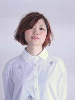【3Dダブルカラー】プチモード×ショートボブ